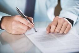 Abwicklungsvertrag unterschreiben