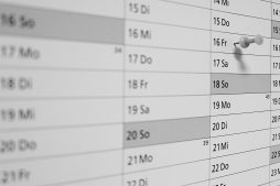 Wandkalender: Das Zeugnisdatum muss der letzte Tag des Arbeitsverhältnisses sein