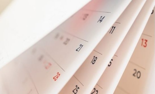 3 Kalenderblätter